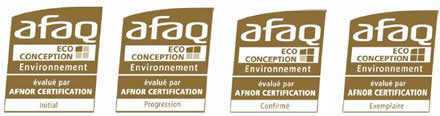 AFAQ ECOconception : les logos